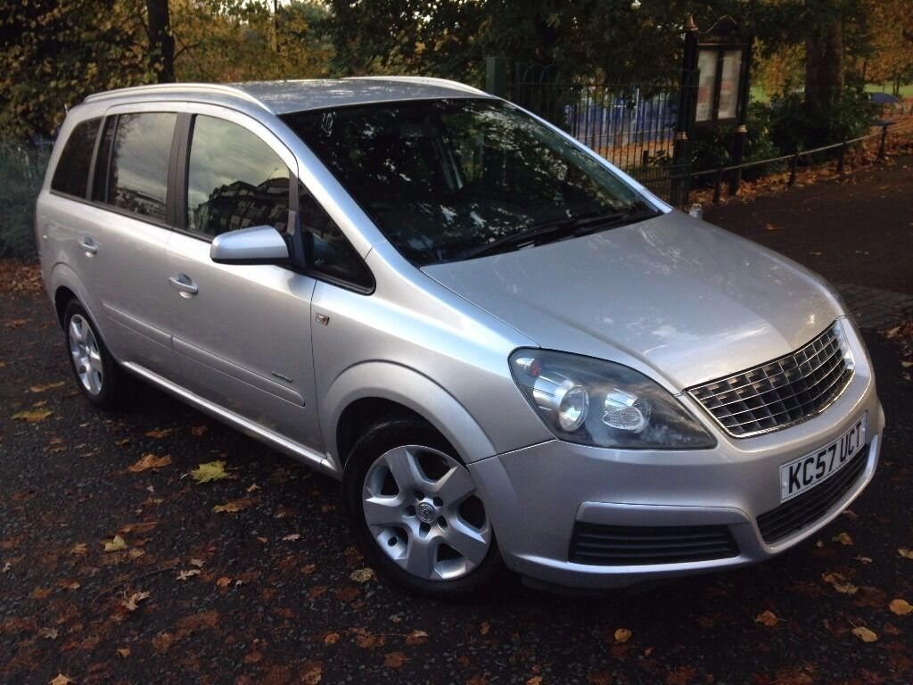 Vauxhall Zafira 1.9 CDTi Energy 5dr£1,999 FULL S/H, NEW MOT, 6 SPEED 2008 (57 reg), MPV