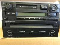GENUINE VW GAMMA CASSETTE PLAYER AND SINGLE CD PLAYER IN VERY GOOD CONDITION