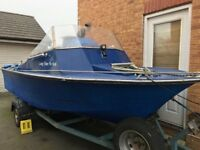 18 foot boat with 40 go tohatsu outboard
