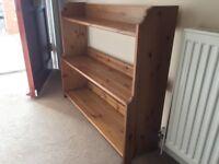 Antique Pine Bookcase (IKEA)