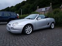 2001 MG MGF - Silver - Brilliant Summer Car!