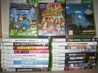 Xbox 360 with kinect console plus 21 games