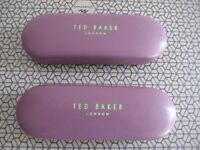 Ted Baker Glasses case x 2 with free Ted Baker Box
