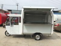 Electric Engine Bike Cart Mobile Catering Trailer Ice Cream Cart