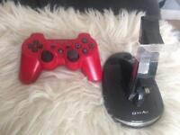 PS3 Controller + Docking Station
