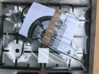 Brand new Bosch chrome gas hob never used or opened