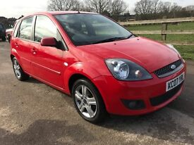 1 DAY PRICE ONLY £1300, 2007 07 reg Ford Fiesta 1.25 ZETEC CLIMATE,only 70k,FULL SERVICE HISTORY