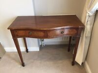 Mid Century Regency style vintage sideboard table