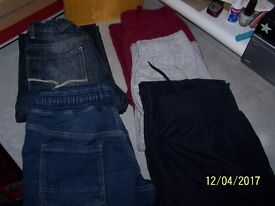 boys jeans and joggers 10/11 yrs