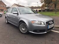 2005 Audi A4 Estate, S-line kit, 12 months MOT, nice and tidy!