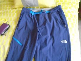 North Face Ladies walking trousers - Size 8