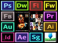 Adobe photoshop CC, Adobe Master Suit (PC/MAC)