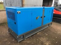 Generator 125 KVA unused year 2017 full Autostart panel