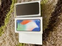 Mint iphone x 256gb (unlocked)
