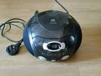 Cd radio compact stereo boom box. Vgc from a pet and smoke free home