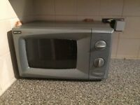 Microwave oven well used