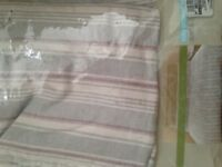 BEAUTIFUL M&S DOUBLE DUVET COVER AND 2 PILLOWCASES NEW