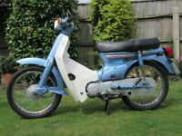 Honda C90E Cub registered March 1985 - Outstanding Condition