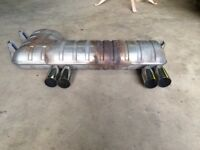 "ORIGINAL BMW E46 M3 EXHAUST WITH UPGRADED 3"" STAINLESS STEEL PIPES(330,320,325,CI,D,M SPORT,MSPORT)"