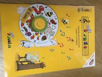 Series of 7 Jolly Phonics Books and CD with songs