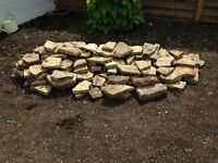 Cotswold stone - nice pile of weathered stone