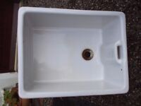 A porcelain Armitage & Shanks Belfast Sink