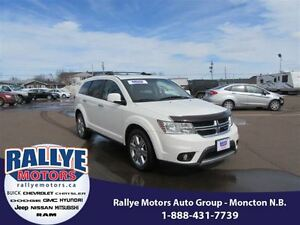 2012 Dodge Journey RT! AWD! NEW TIRES! Back-Up! Alloy! Leather