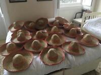 9 sombreros (hen party?)