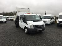 2011 FORD TRANSIT 115 CREWCAB TIPPER##DIRECT FROM COUNCIL##45K MILES##