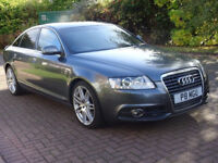 AUDI A6 2.0 TDI LE MANS 4d AUTO 168 BHP SAT NAV ++ LEATHER TRIM ++ 1 PREVIOUS KEEPER ++ 2 KEYS ++