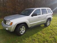 Jeep Grand Cherokee 3.0CRD Limited Auto 2006 (55REG) Low Mileage 4x4