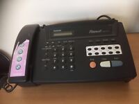 Brother thermal fax machine