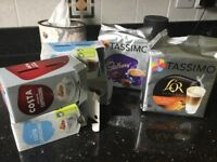 Various Tassimo pods
