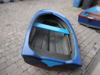 8ft Fibreglass Punt / Tender / Rowing Boat