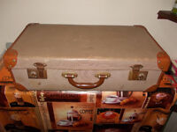 "Vintage ""Shabby Chic"" suitcase"
