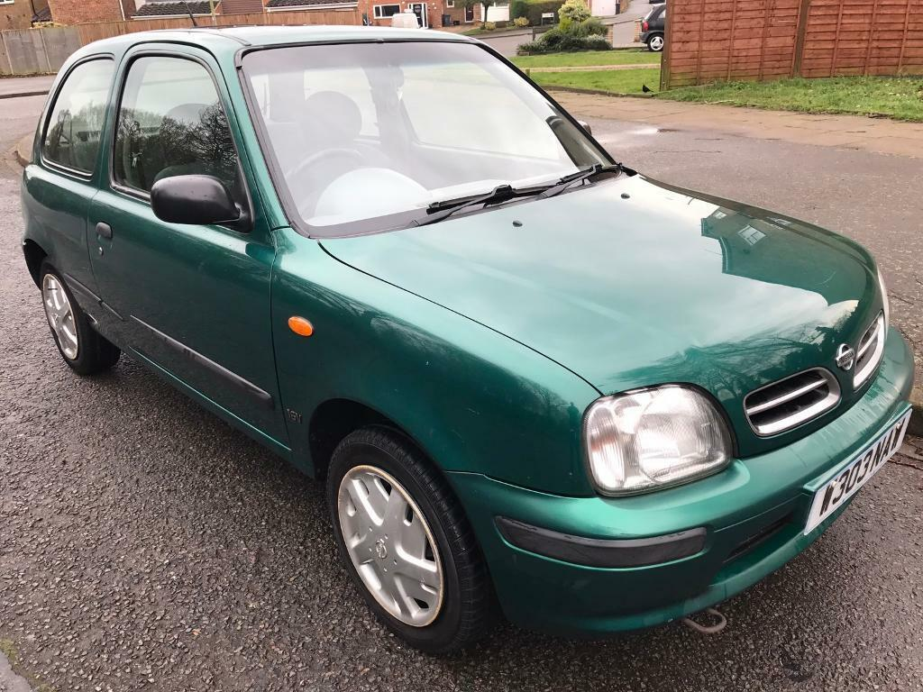 nissan micra celebration 1 0 16v 2000 twin cam engine manual 98k s h mot may 2017 in. Black Bedroom Furniture Sets. Home Design Ideas