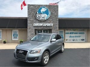 2010 Audi Q5 3.2L PREMIUM WITH LARGE PANO ROOF. FINANCING AVAIL