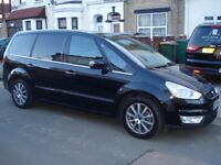 PCO FORD GALAXY 59 PLATE. Automatic....GHIA ,TOP OF RANGE,BLACK,ONE YEAR PCO