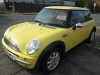 MINI HATCHBACK 1.6 One 3dr (yellow) 2001