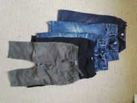 2-3 years boys trouser bundle x 5
