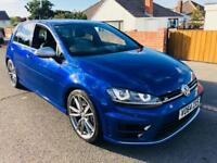 *2014* VOLKSWAGEN GOLF R 4MOTION 5 DOOR MANUAL SAT NAV LEATHER VW HISTORY MAY PX GTD GTI RS4 C63