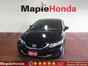 2015 Honda Civic EX| 39, 726 KM, Backup Cam, 5-Speed Manual!