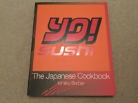 YO! Sushi The Japanese Cookbook by Kimiko Barber NEW