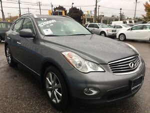 2012 Infiniti EX35 AWD *LEATHER-SUNROOF* Kitchener / Waterloo Kitchener Area image 6