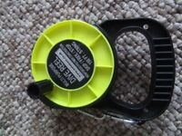 BRAND NEW- never used- Scuba SAFETY REEL, best insurance