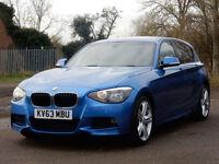 2013 63 BMW 1 SERIES 2.0 120D M SPORT