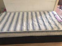 Single divan bed