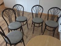 14 Bar style retro Chairs - FREE!