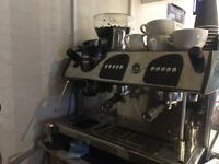 Expobar Expresso Coffee Machine with In built Grinder -Hardly used