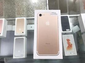 Brand New, Apple iPhone 7, 128GB, Gold, Unlocked, Boxed! 2 Available